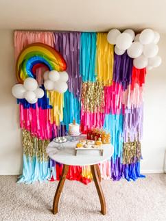 Rainbow Birthday Design