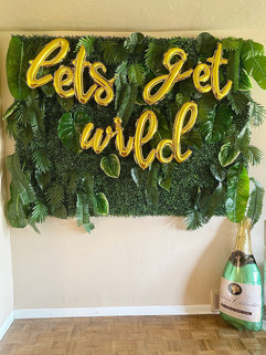 Let's Get Wild Photo Backdrop