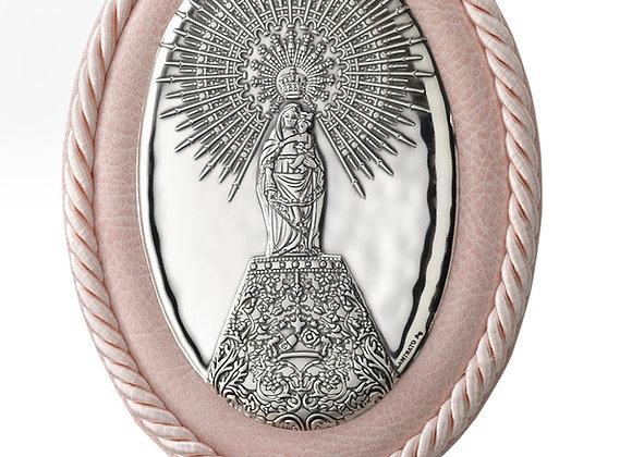 Medalla Oval Virgen del Pilar
