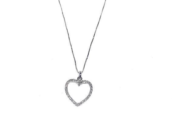 Gargantilla Corazón Diamante