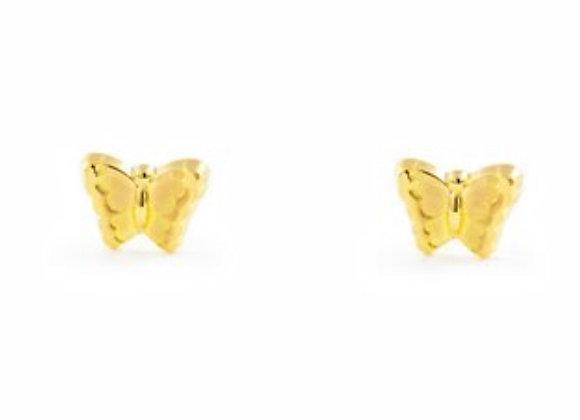 Pendientes Mariposa Oro