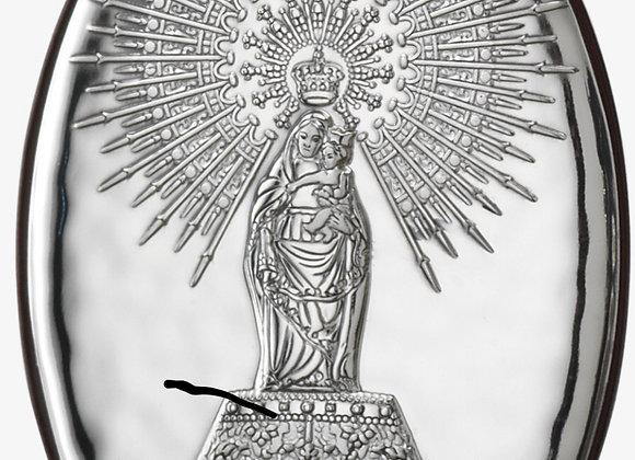 Icono Oval Virgen del Pilar 7-10