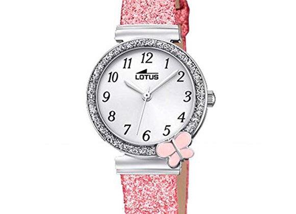 Reloj Niña Rosa Lotus