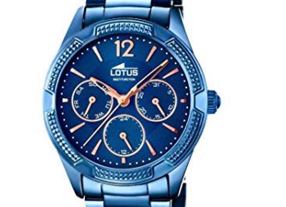Reloj Azul Lotus
