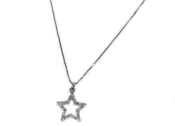 Gargantilla Estrella Diamante