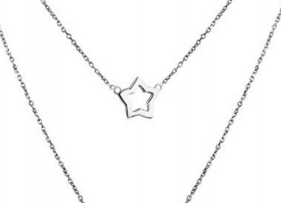 Colgante Doble Estrella