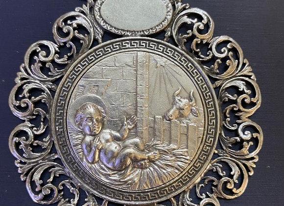 Medalla Cuna Niño en Pajas