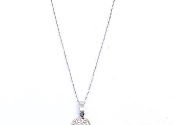 Gargantilla Inicial C Diamante