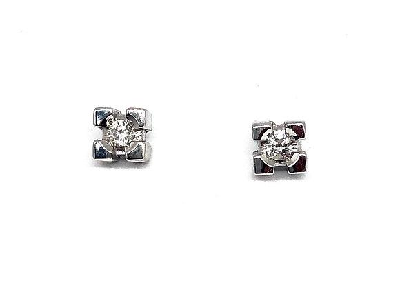 Pendientes Diamantes 0,15