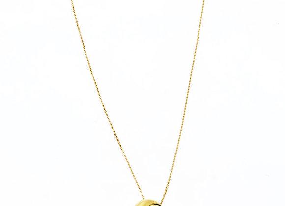 Collar Luna Oro de Ley