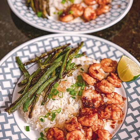 Rockin' the Kitchen | Hoisin Shrimp
