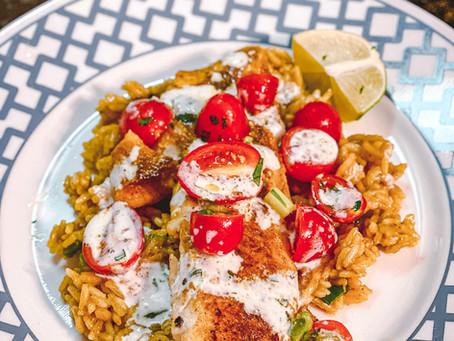 Rockin' The Kitchen | Baja Rockfish