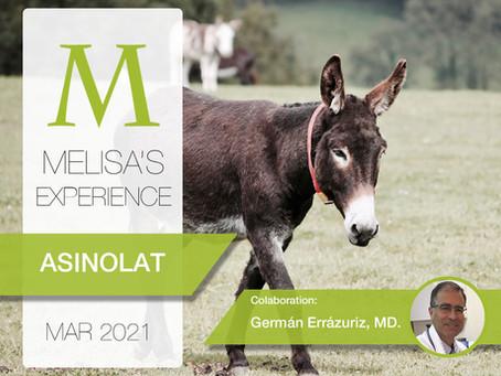MELISA'S EXPERIENCE - ASINOLAT: Characterization of the proteomic landscape of donkey's milk