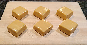 Marshmallow Banana Cream Pie Caramels_We