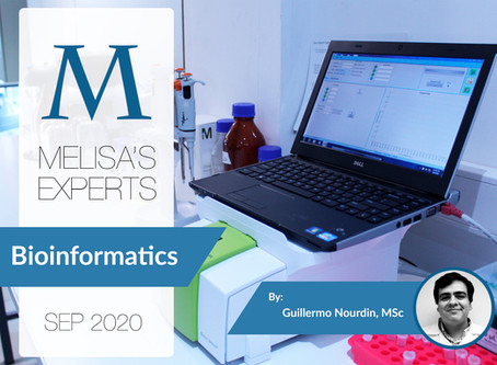 MELISA's Experts: Bioinformatics applied to mass spectrometry, by Guillermo Nourdin, MSc.