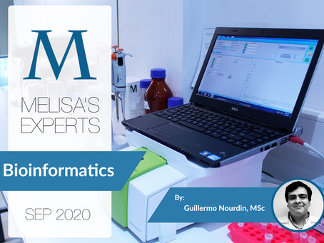 MELISA's Experts: Bioinformatics applied to mass spectrometry, by Guillermo Nourdin, MSc.