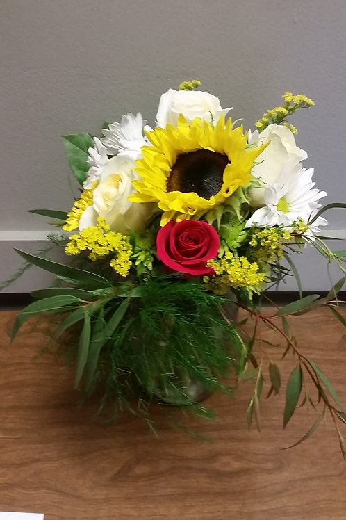 Sun Flower Love