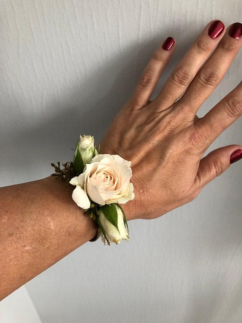 """Rose """"Corsage"""" Bracelet"""