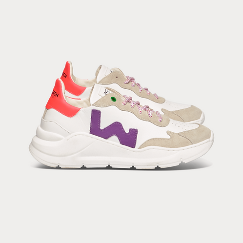 Wave White Purple   Womsh