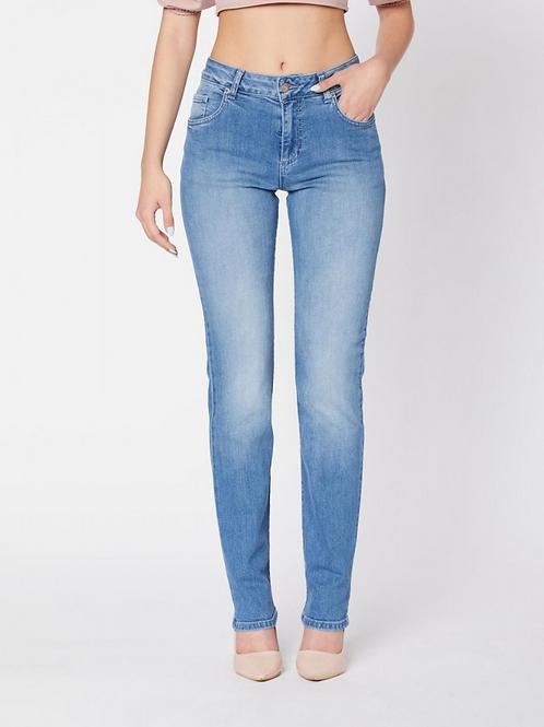 Ciclamino Straight Jeans Woman | Par.co Denim