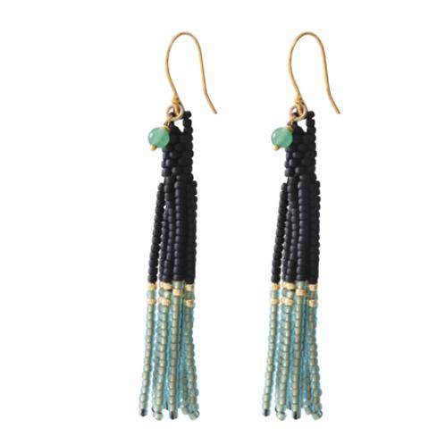 Dream Aventurine Gold earrings | A Beautiful Story