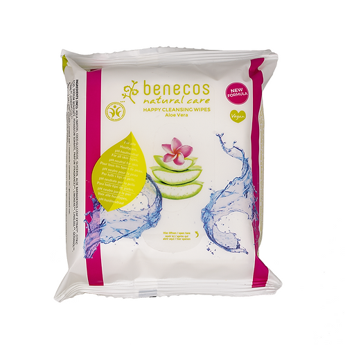 Happy Cleansing Wipes | Benecos