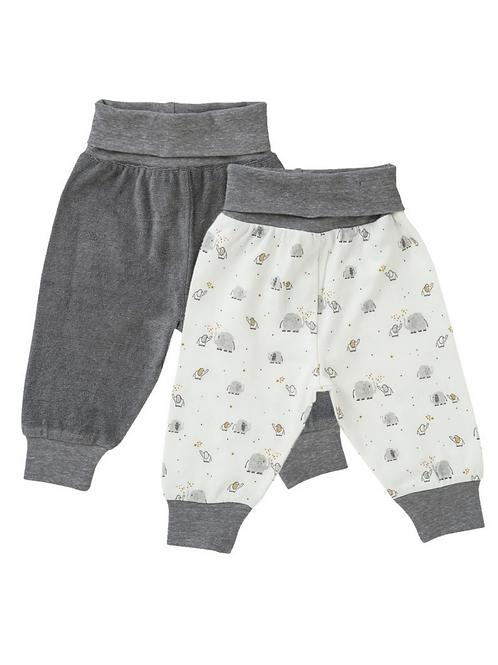 Baby Pants in organic cotton, Grey | People Wear Organic