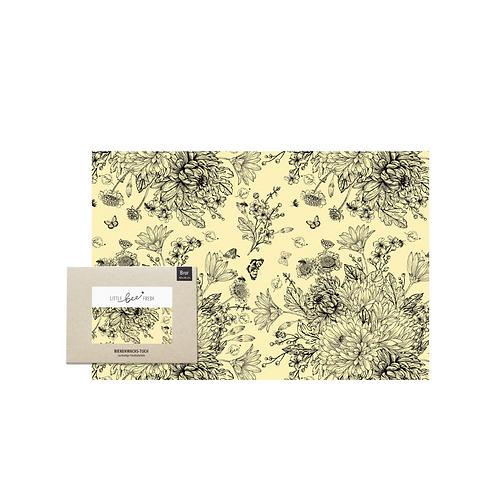 Organic beeswax cloth for bread XXL  | Little Bee Fresh