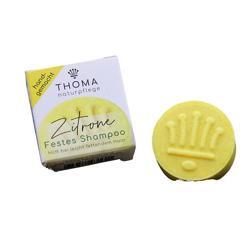 Solid Shampoo Lemon   Thoma Naturpflege