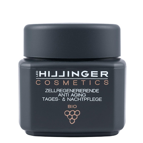 Cell-Regenerating Anti-aging Organic Day & Night Care | Hillinger