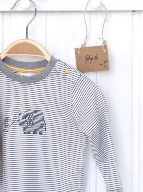 Longsleeve T-shirt in organic cotton | People Wear Organic