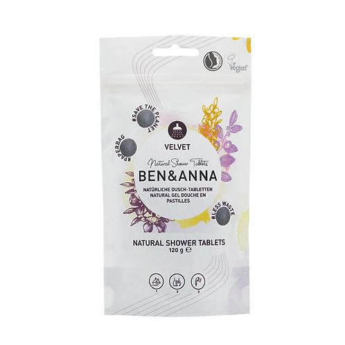 Natural Shower Tablets - Velvet | Ben&Anna