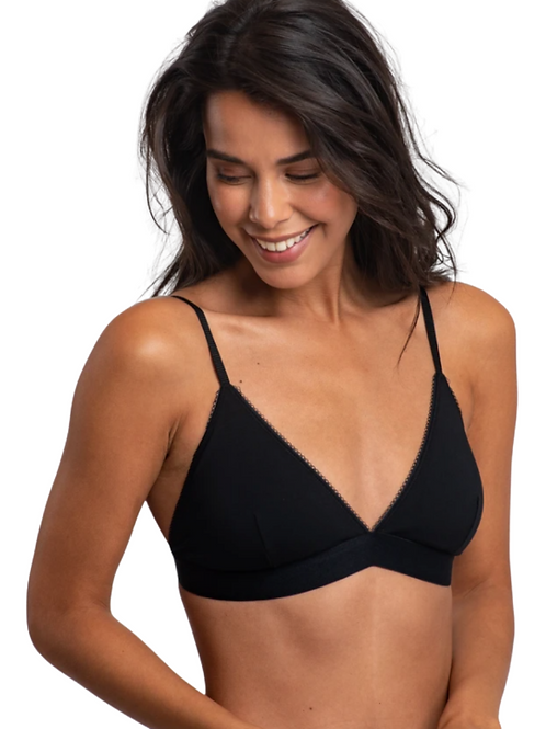 Bralette Lisa in organic cotton | A-Dam