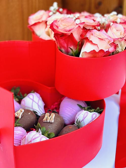 Heart luxury box