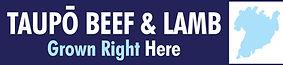 Taupo Beef Lamb Logo