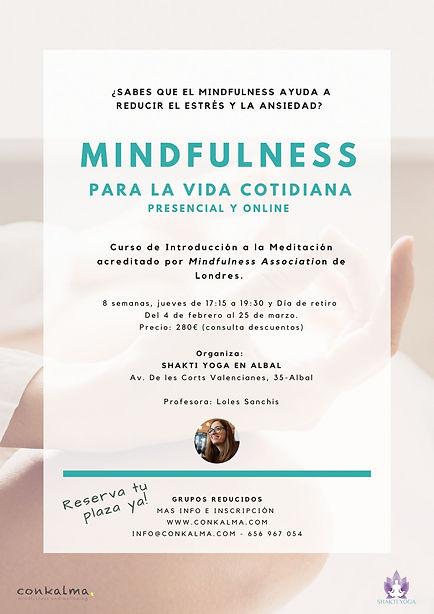 curso de mindfulness Shakti_yoga Loles_S