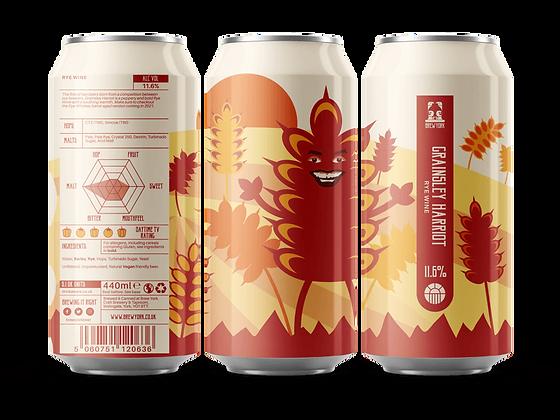 Brew York - Grainsley Harriott. 11.6%