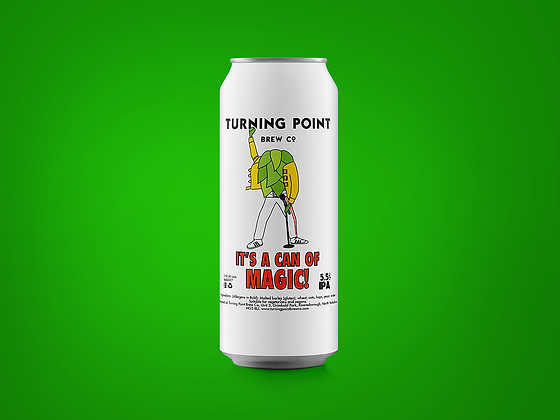 Turning Point - It's A Can Of Magic. 5.5%