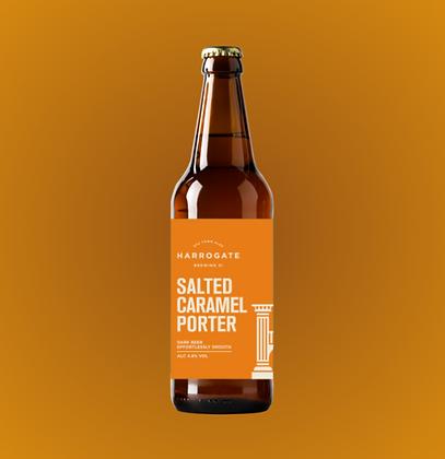 Harrogate Brewing Co. - Salted Caramel Porter. 4.8%