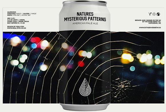 By The River Brewing - Natures Mysterious Patterns. 5.0%