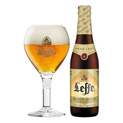 Leffe blonde. 6.6%
