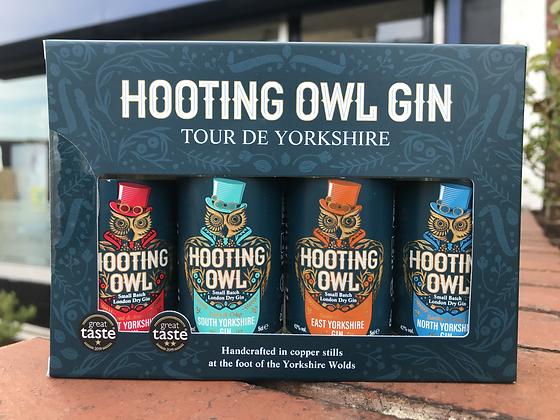 Hooting Owl - Tour De Yorkshire 5cl Gin Set