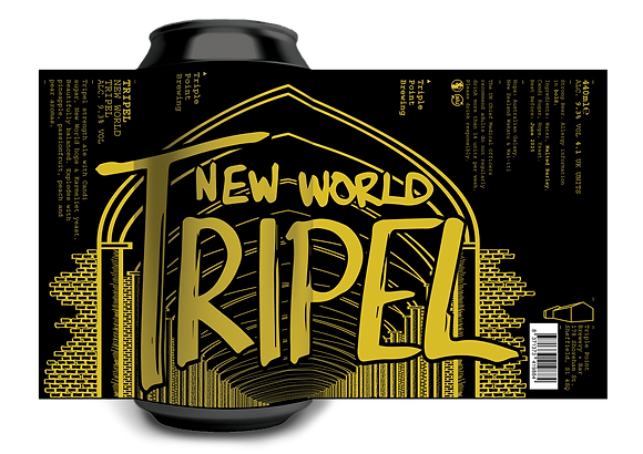 Triple Point Brewing - Tripel. 9.3%