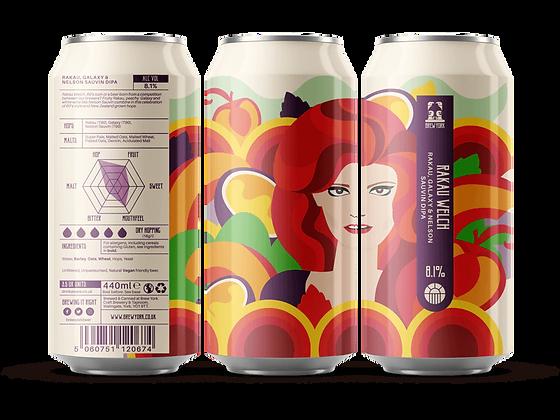 Brew York - Rakau Welch. 8.1%
