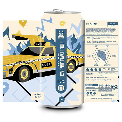 Brew York - Time Travelling Taxi