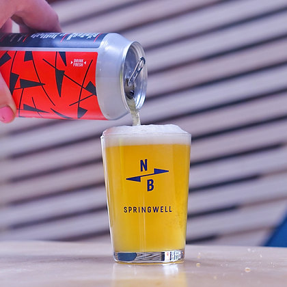 North Brewing Co Third Pint Glass