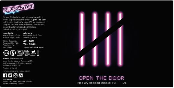 Neon Raptor - Open The Door. 10%