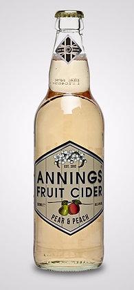Annings - Pear & Peach. 4%