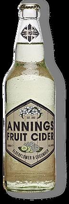 Annings - Elderflower & Cucumber. 4%