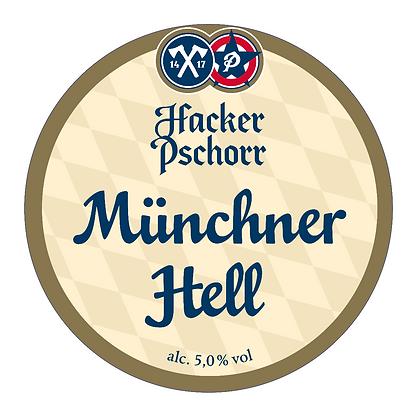 Hacker Pschorr - Munchner Hell. 5%